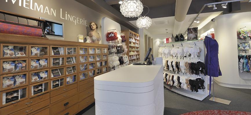 Boutique De Lingerie Concept De Magasin Et Agencement De Magasins