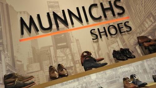 Munnichs : Agencement de chaussures