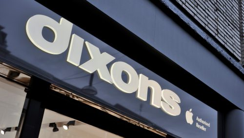 Conception de détail du concept de shopping Dixons 3.0