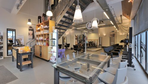 Interieur kapsalon Hairfriends, Dronten