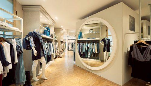 Agencement boutique de mode – In de Groene Lantaarn