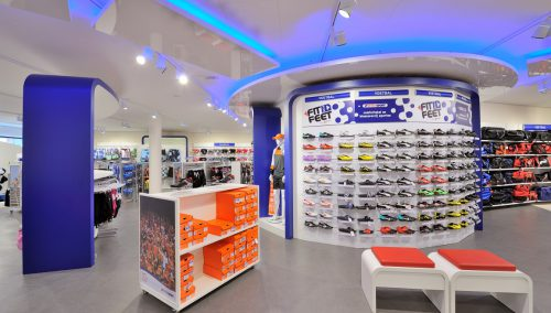Intersport NL – ameublement concept de magasin