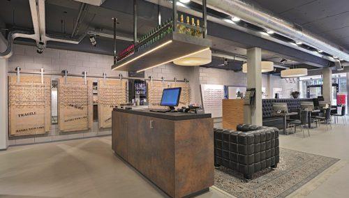 Optique Kriek : Aménagement de boutique optique