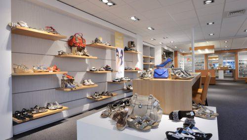 Concept d'intérieur Nobach chaussures