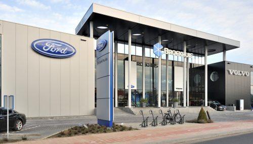 Design intérieur salle d'exposition – Ford NL