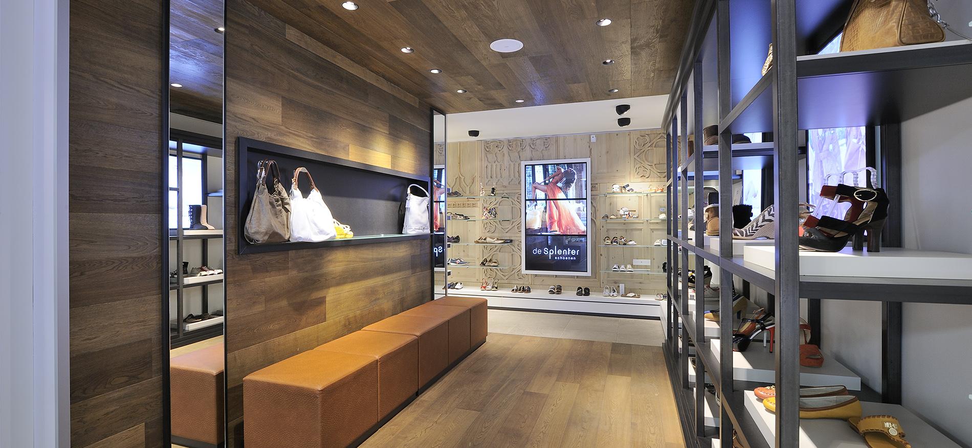 Chaussures Agencement Interieur Pour La Boutique De Chaussures
