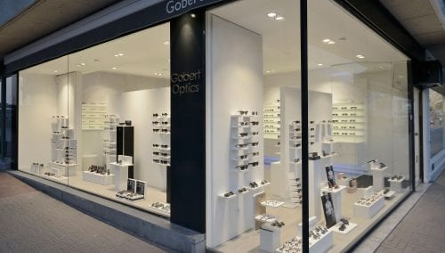 Concept de magasin – Gobert Optics Knokke Heist (BE)