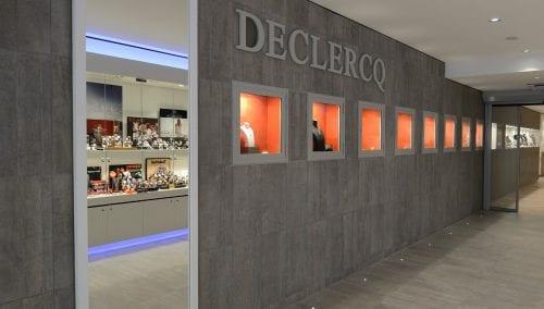 Interieur Juwelier Declerq Tienen (BE)