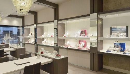 Boutique sécuritaire d'ajustage bijouterie pour Robert den Haag (NL)