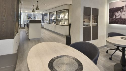 Bijouterie Betzler (DE) : Agencement de bijoutier
