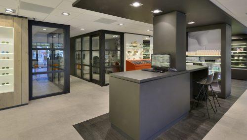De Romph Optique – Rénovation de magasin