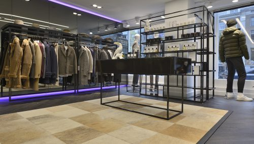 Kings Square – Amsterdam : Agencement boutique de mode