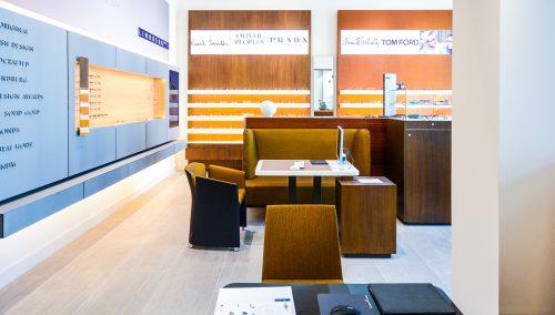 Optique Schmidt : agencement de magasin optique