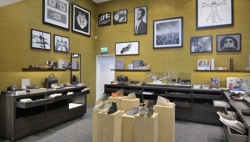 Conception de Shuz Chaussures : Agencement de magasin chaussures