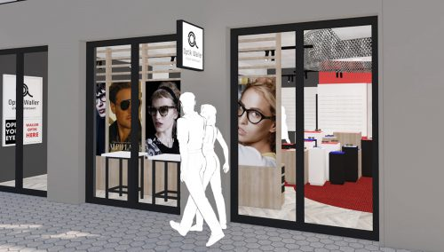 Waller Optique – Hofheim (DE) : concept de magasin
