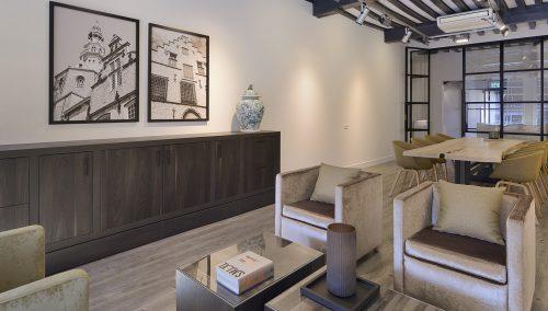 Sinke Makelaars – concept d'intérieur pour aménagement de bureau