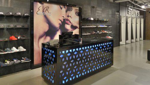 Eddy's mode – Création de la boutique