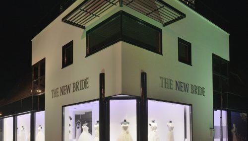 The New Bride : Intérieur robes de mariée