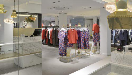 Anna van Toor | Zeist (NL) | Intérieur de boutique de mode de luxe