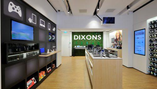 Shop concept retailketen Dixons, Amersfoort