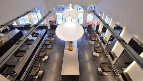 Design intérieur salon de coiffure Gente