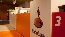 Ontwerp ontvangstruimte kantoor Rabobank