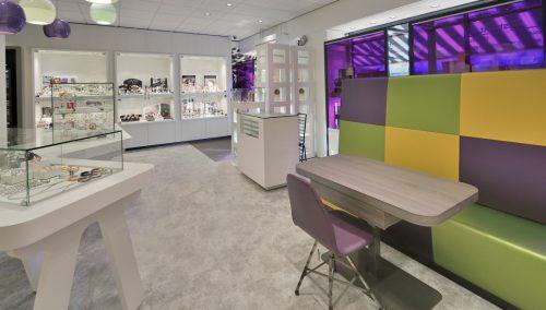 Abstrakt Bijoux   Amsterdam (NL) : Agencement bijouterie