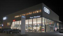 Design intérieur Audi – Salle d'exposition