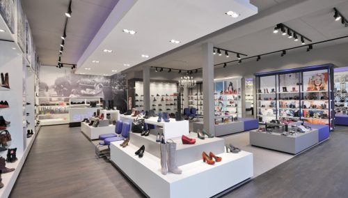 Smit Schoenen, Mijdrecht: Interieur schoenenzaak