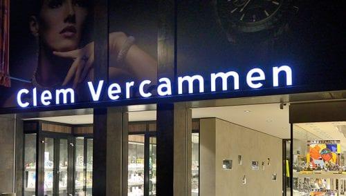 Vercammen Bijouterie Joalliers (BE) – Concept de magasin et agencement commerciel