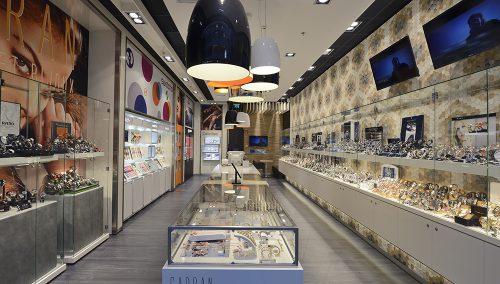 Concept bijouterie : Agencement de boutique Cadran Montres (LU)