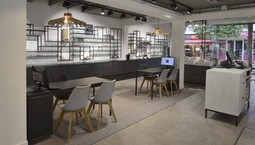 Concept tendance pour la boutique Beeks Eyecare & Earcare