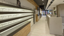 Optique Zeist : l'architecture d'intérieur d'optique