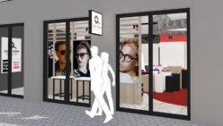 Waller Optique – Hofheim (DE) : concept de magasin