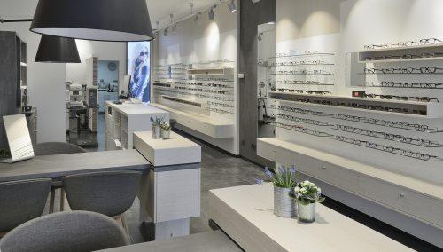 Optique Klöckner : un intérieur de magasin rénové